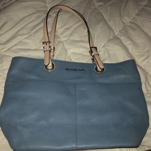 Small Baby Blue Michael Kors Bag